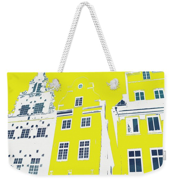 Stockholm Windows Weekender Tote Bag