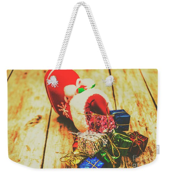 Stocking Up For Christmas Weekender Tote Bag
