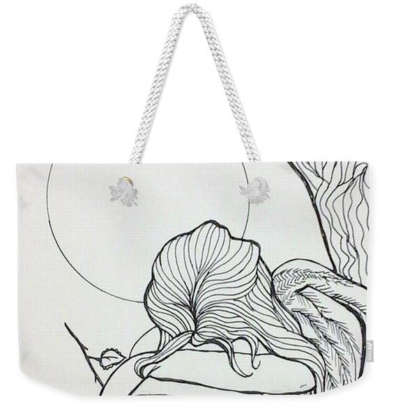 Stone Angel Weekender Tote Bag