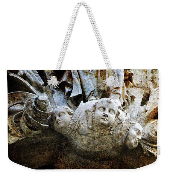 Stone Angels Weekender Tote Bag