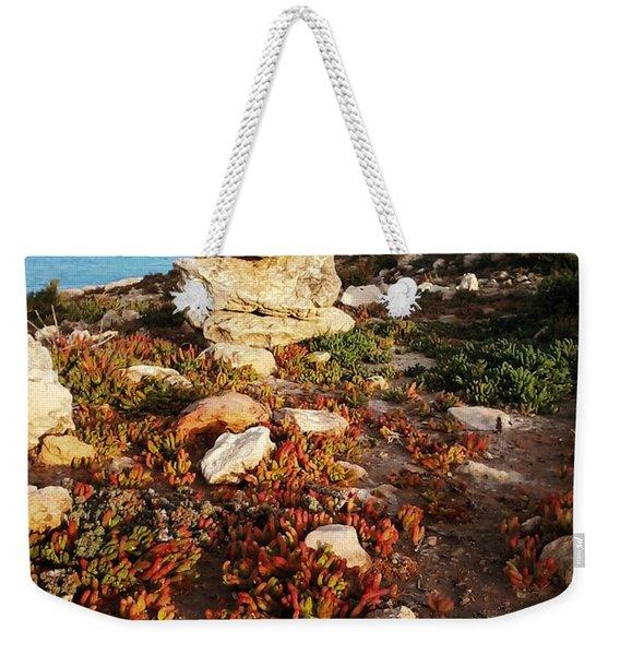 Stone Balance Weekender Tote Bag