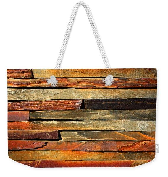 Stone Blades Weekender Tote Bag