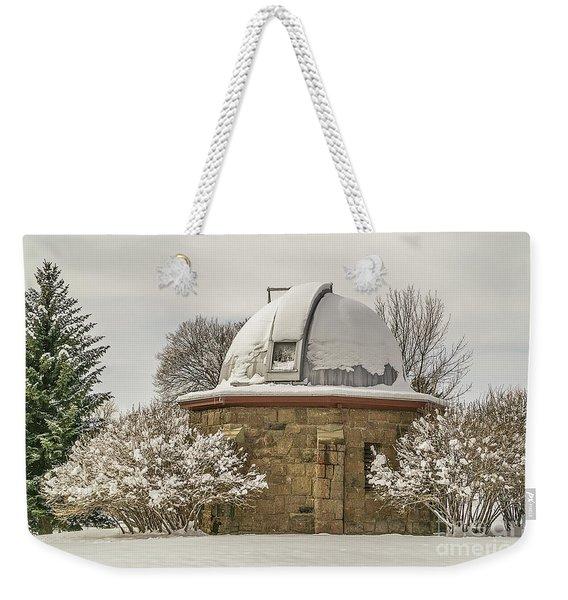 Stone Block Observatory Weekender Tote Bag