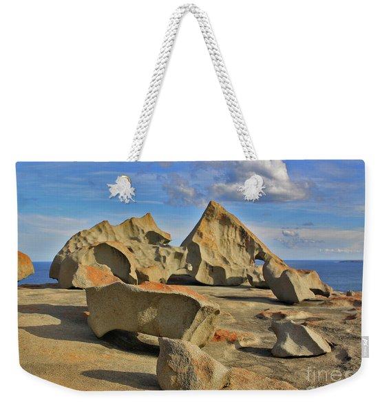 Stone Sculpture Weekender Tote Bag