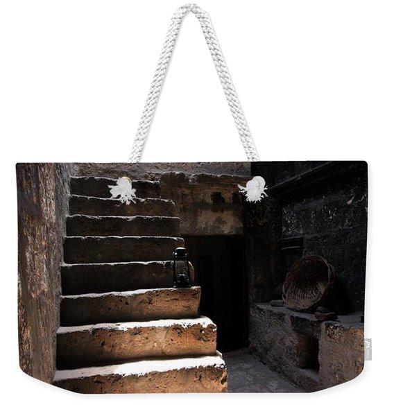 Stone Stairs At Santa Catalina Monastery Weekender Tote Bag