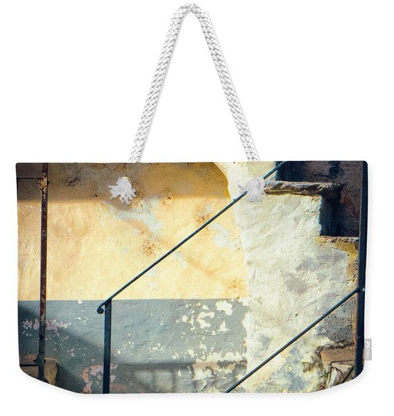 Stone Steps Outside An Old House Weekender Tote Bag