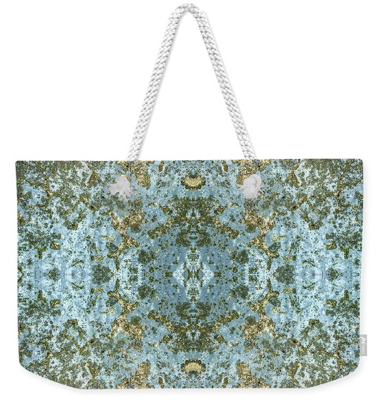 Stone Washed Pattern Weekender Tote Bag
