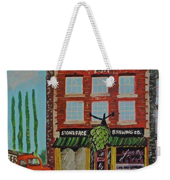Stoneface Brewing Co. Weekender Tote Bag