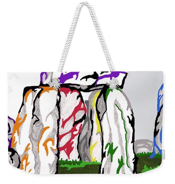 Stonehenge Chakras Weekender Tote Bag