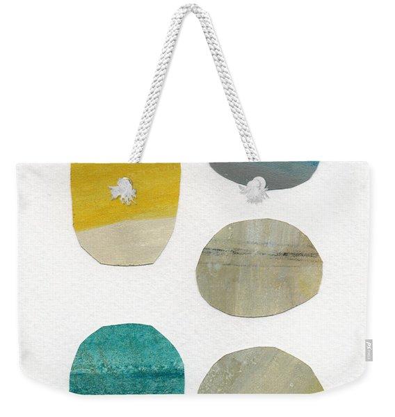 Stones- Abstract Art Weekender Tote Bag