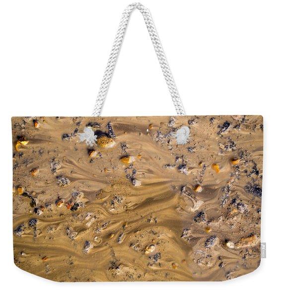 Stones In A Mud Water Wash Weekender Tote Bag