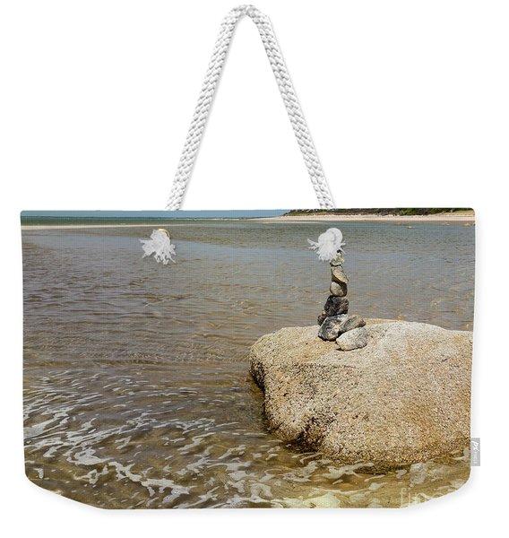 Stonework Weekender Tote Bag