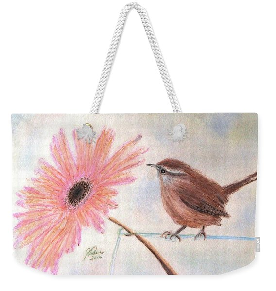 Stopping By To Say Hello Weekender Tote Bag
