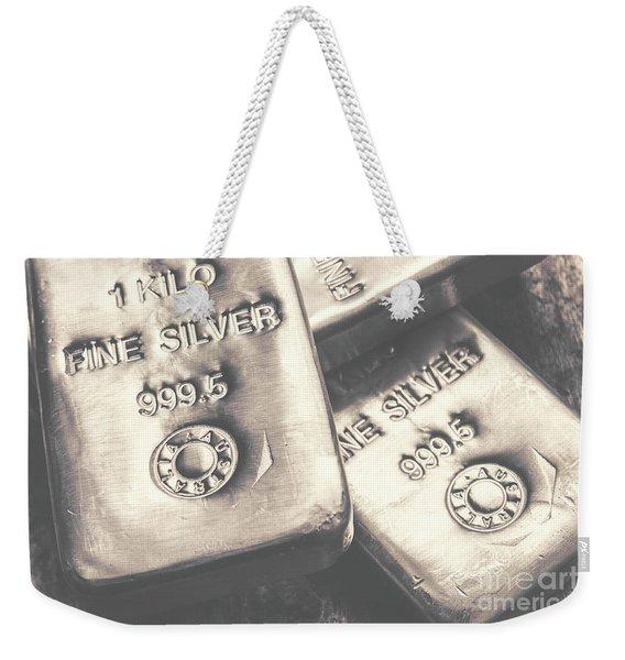 Store Of Wealth Weekender Tote Bag
