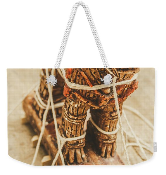 Stories From Ancient Troy Weekender Tote Bag