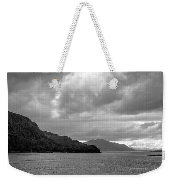 Storm On The Isle Of Skye, Scotland Weekender Tote Bag
