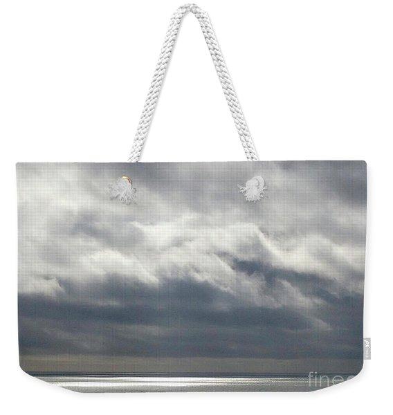 Storm Clouds On The Horizon Weekender Tote Bag