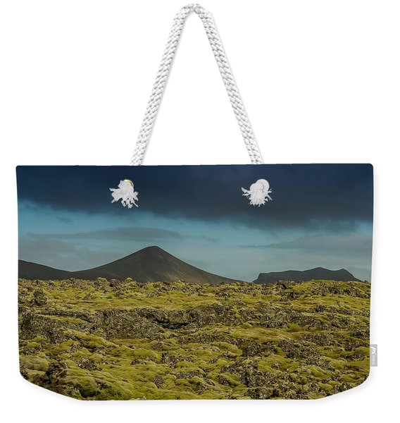 Storm Clouds Over Iceland Weekender Tote Bag