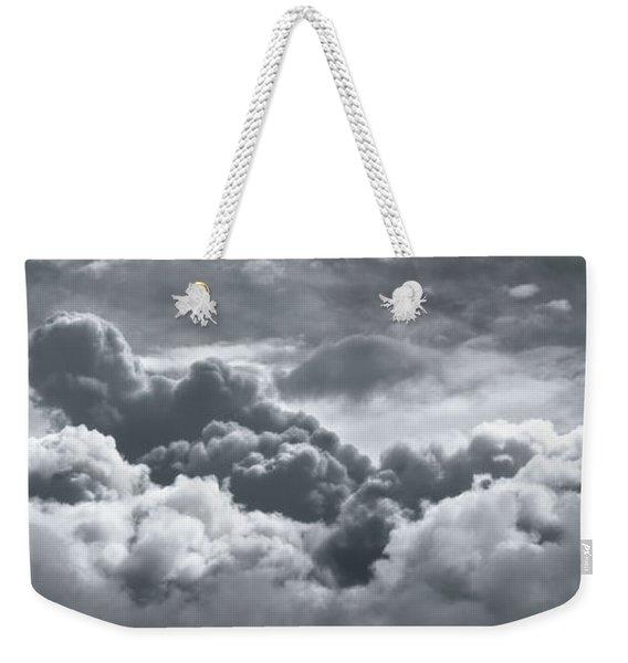 Storm Clouds Over Sheboygan Weekender Tote Bag