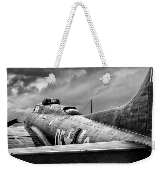 Storm Couds Over Memphis Belle - 2017 Christopher Buff, Www.avia Weekender Tote Bag