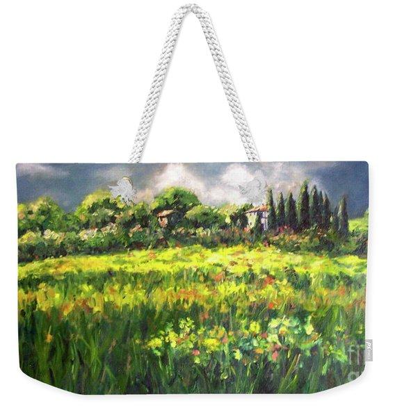 Storm In Tuscany Weekender Tote Bag