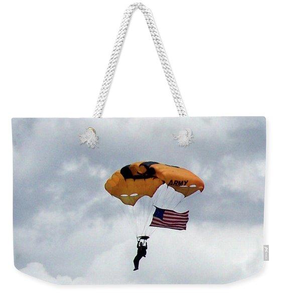 Storm Jump Weekender Tote Bag