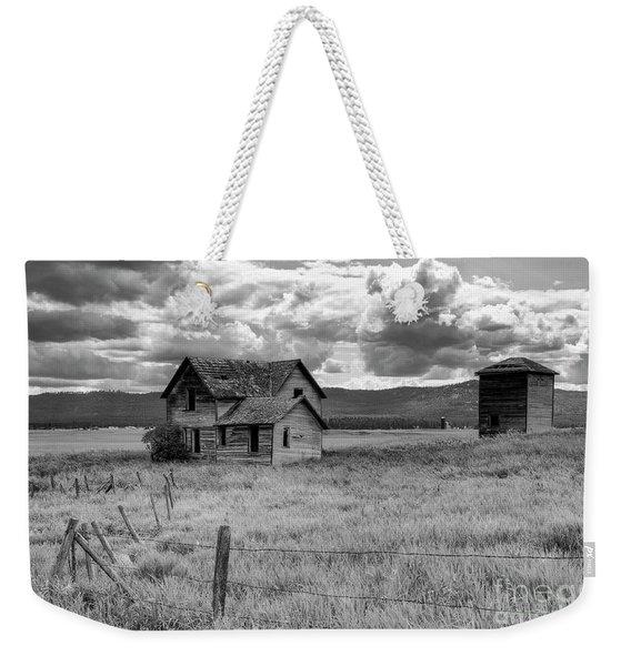 Storm Over Big Sky Montana Weekender Tote Bag