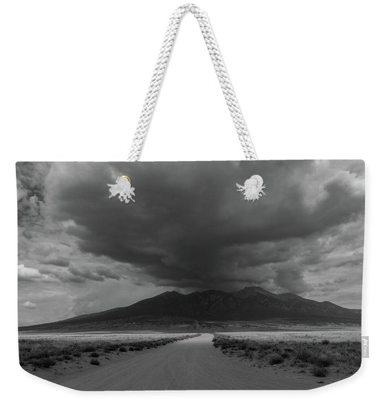Storm Over Blanca Peak Weekender Tote Bag