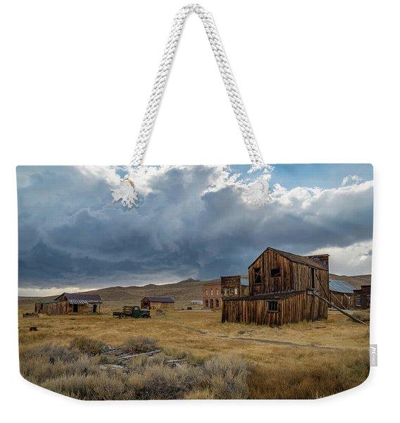 Storm Over Bodie Weekender Tote Bag