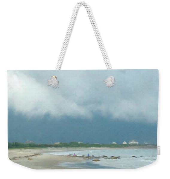 Storm Over Goosewing Weekender Tote Bag