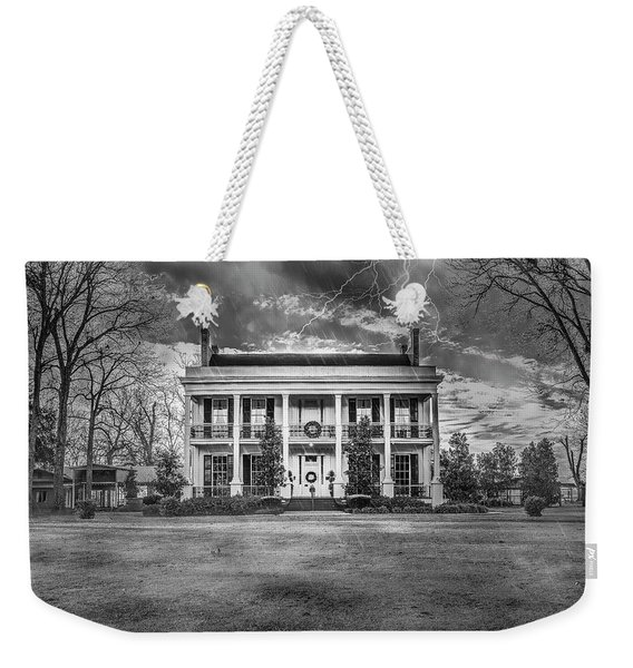 Storm Over Loyd Hall Plantation Weekender Tote Bag