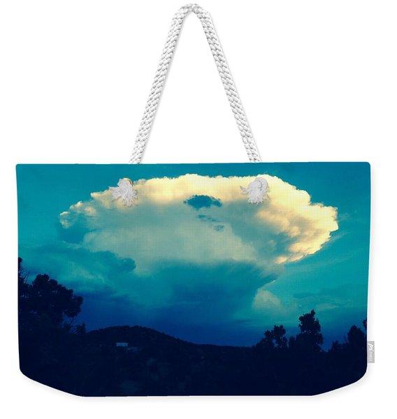 Storm Over Santa Fe Weekender Tote Bag