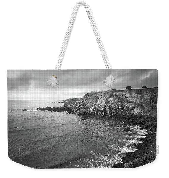 Storm Over The Eastern Shoreline Of Angra Do Heroismo Terceira Weekender Tote Bag