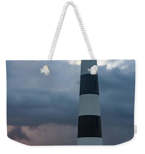 Storm Passes Bodie Island Lighthouse Weekender Tote Bag
