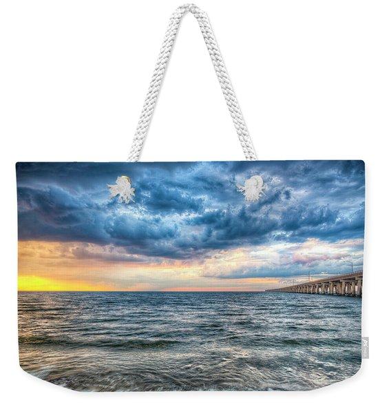 Storm Rising Weekender Tote Bag