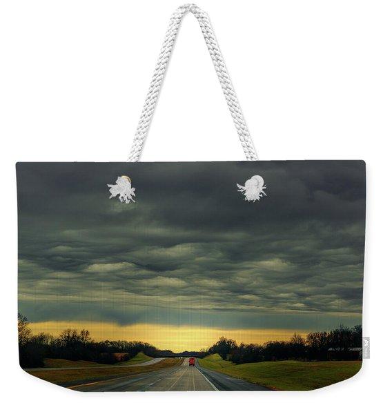 Storm Truckin' Weekender Tote Bag
