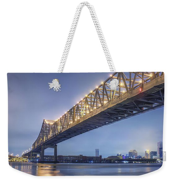 Storms Over The Crescent City Connection Weekender Tote Bag