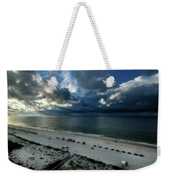 Storms Over The Gulf Of Mexico Weekender Tote Bag