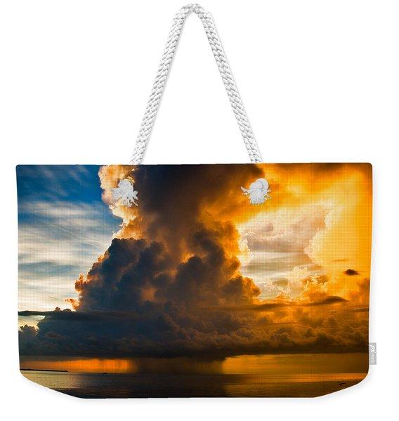 Stormy Florida Keys Weekender Tote Bag