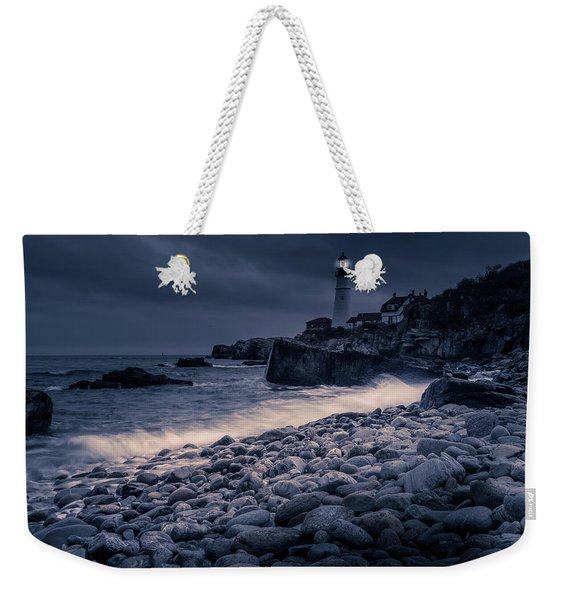 Stormy Lighthouse 2 Weekender Tote Bag