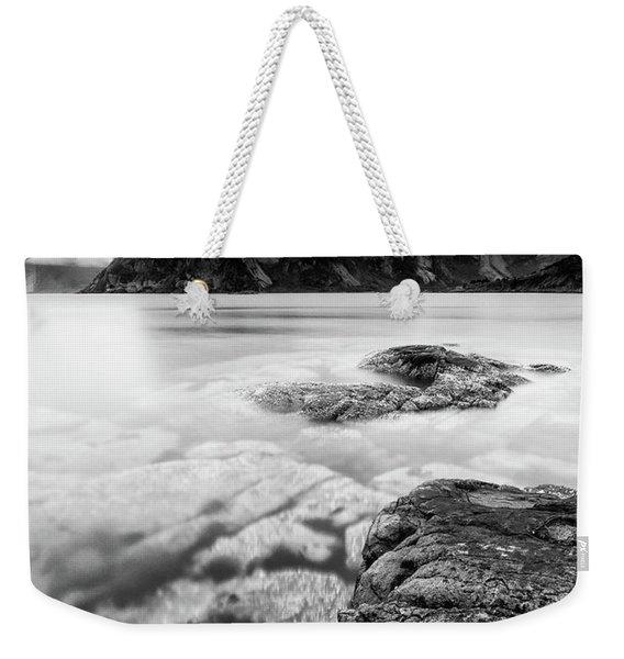 Stormy Lofoten Weekender Tote Bag