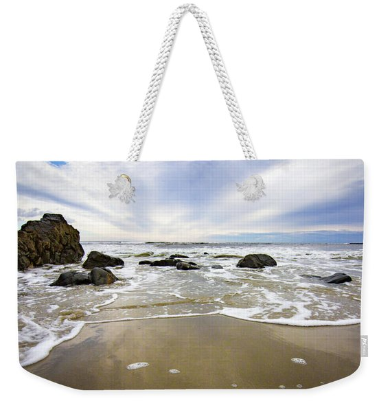 Stormy Maine Morning #1 Weekender Tote Bag