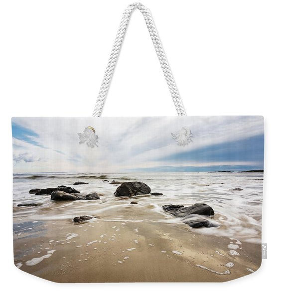 Stormy Maine Morning #2 Weekender Tote Bag
