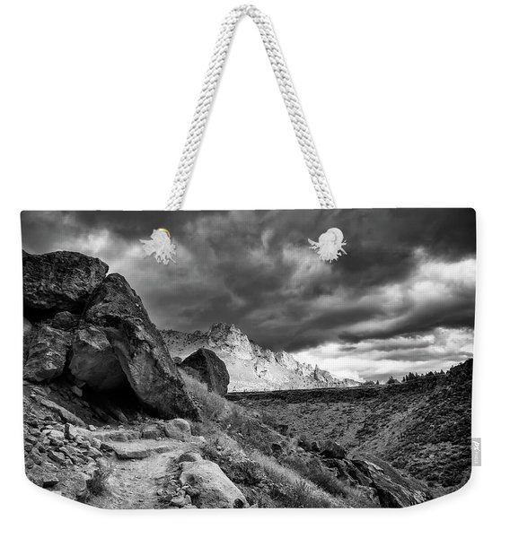 Stormy Misery Ridge  Weekender Tote Bag