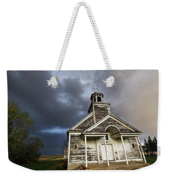 Stormy Sk Church Weekender Tote Bag