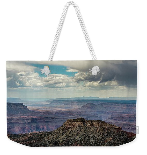 Stormy Sky Past Bridgers Knoll Weekender Tote Bag