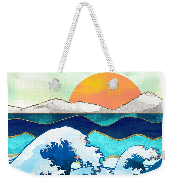 Stormy Waters Weekender Tote Bag