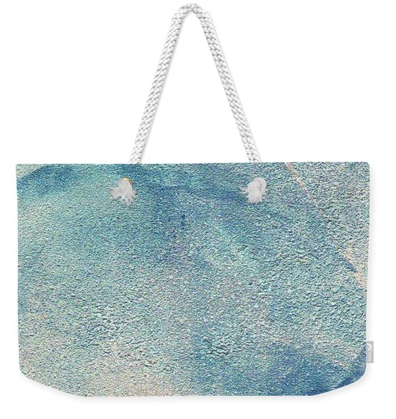 Weekender Tote Bag featuring the mixed media Stormy by Writermore Arts