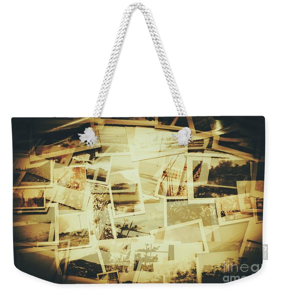 Storyboard Of Past Memories Weekender Tote Bag