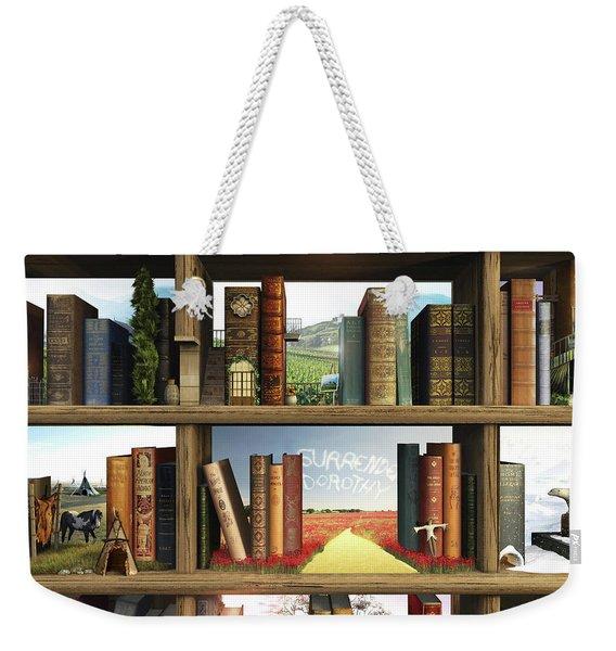 Storyworld Weekender Tote Bag
